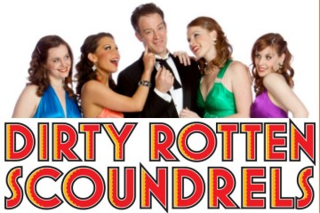 Dirty Rotten Scoundrels opens at the Broadway Rose this week