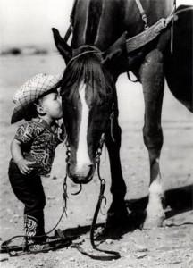 Wilma McFall grew up around horses