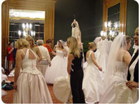 Brides Against Breast Cancer collect and sell THOUSANDS of wedding gowns a year